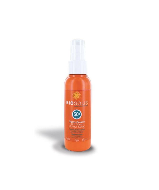 Spray solaire bio SPF 50+ - 100 ml