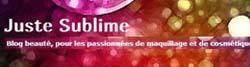 blog beauté JusteSublime
