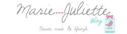 blog beauté MarieJuliette