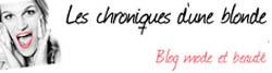 blog beauté LesChroniquesDuneBlonde