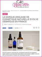 cosmetique bio ClicBienEtre