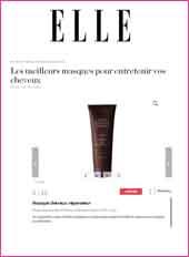 cosmetique bio Elle Magazine