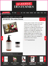cosmetique bio JournalDesFemmes