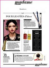 cosmetique bio Madame Figaro