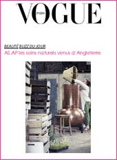 cosmetique bio Vogue