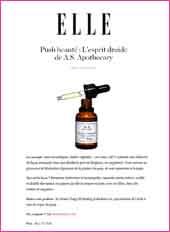 cosmetique bio As.Apothecary