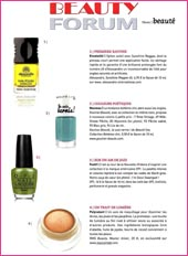 cosmetique bio Beauty Forum