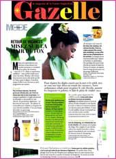cosmetique bio Gazelle Magazine