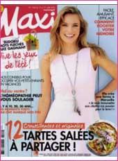 cosmetique bio Maxi Magazine
