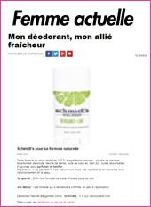deodorant naturel Schmidt