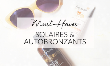 solaires autobronzants cosmetique bio
